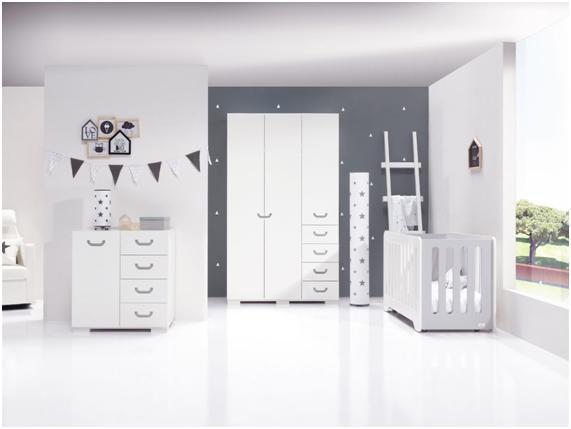 Colección de mobiliario Joy para habitaciones de bebé modernas y ...