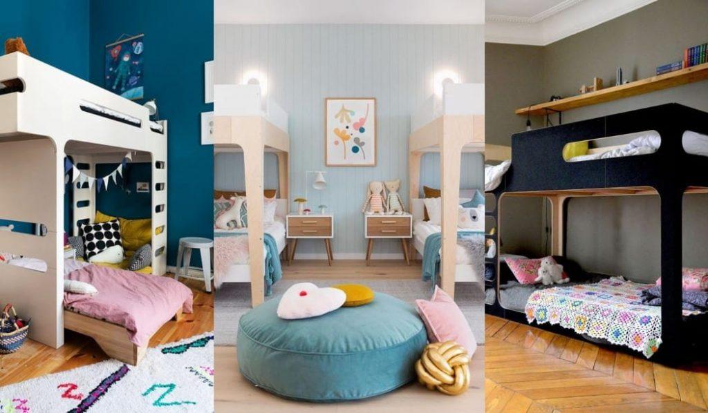Inspiración dormitorios infantiles con literas