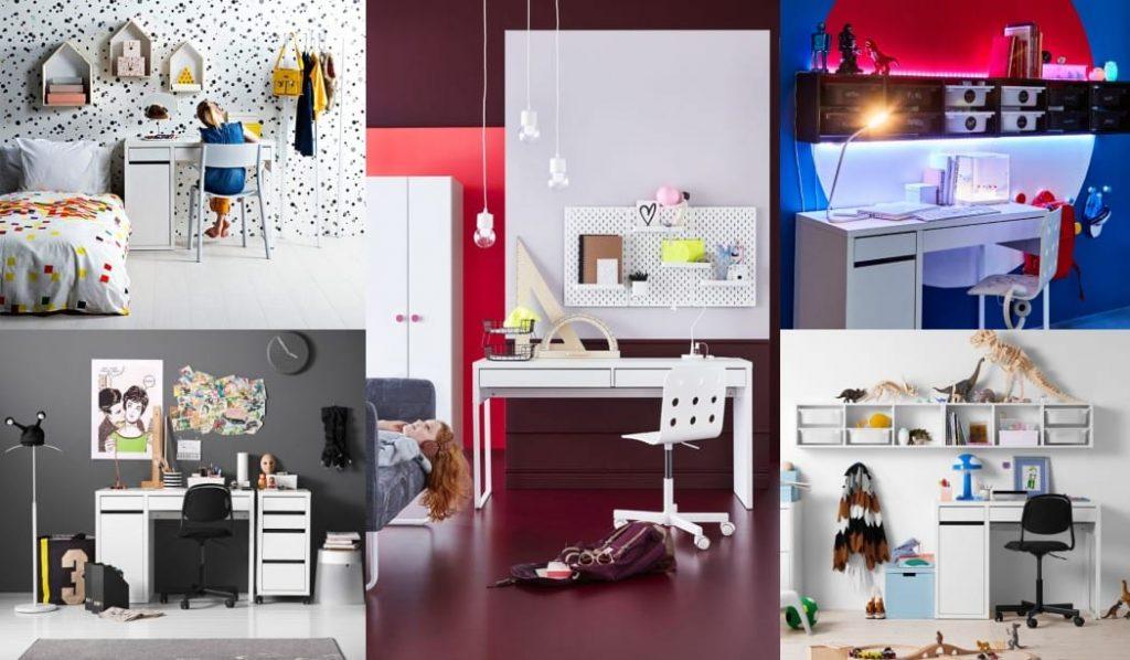 Zona de estudio Ikea infantil y juvenil FOTOS
