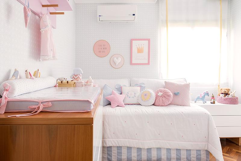 Habitaci n de beb en colores pastel - Vinilos para habitaciones de bebes ...
