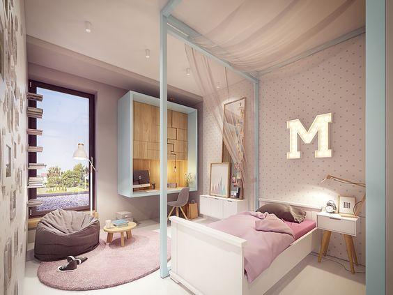 Tendencias habitaciones juveniles 2019 habitaciones de - Decoracion habitaciones juveniles nina ...