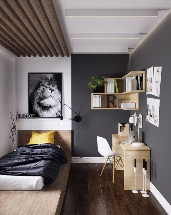 Tendencias habitaciones juveniles 2017 decoideas net for Jugendzimmer colors