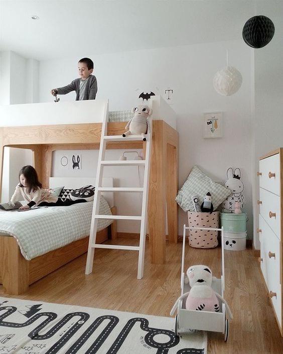 Habitaciones con literas modernas