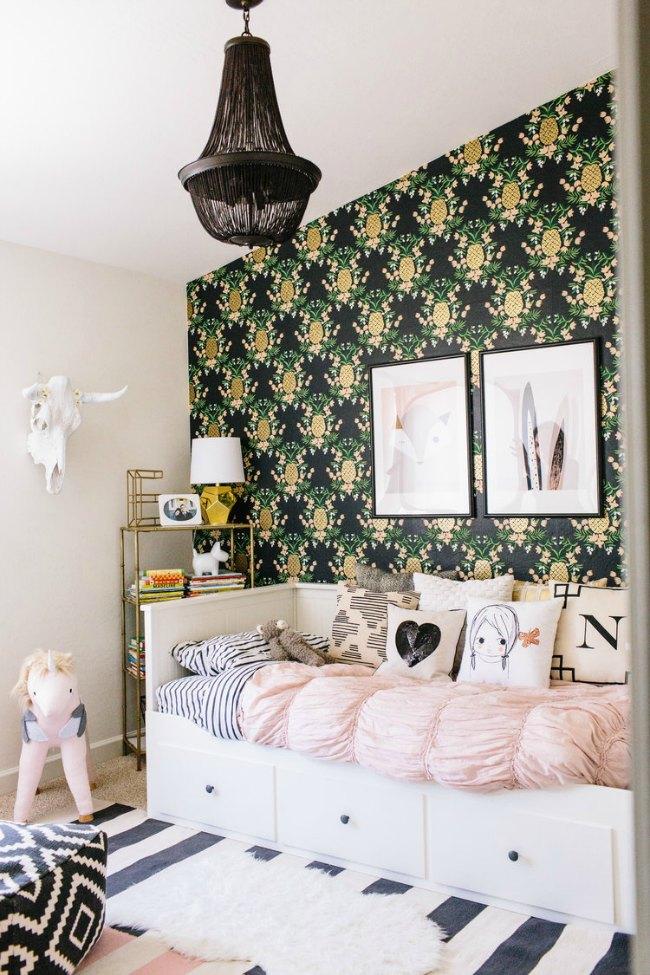 habitación romántica tropical