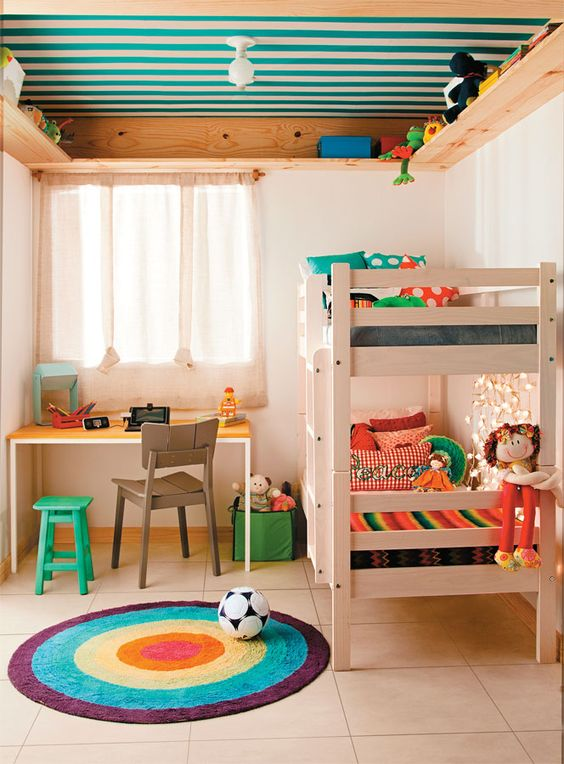 8 ideas para decorar los techos infantiles for Ideas de techos