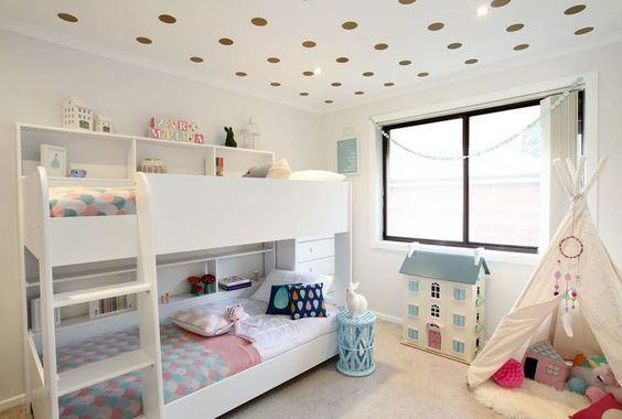 8 Ideas para decorar los techos infantiles