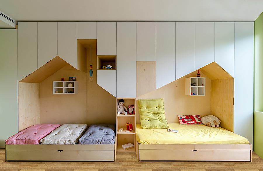Proyecto habitaci n infantil doble for Habitaciones infantiles dobles ikea