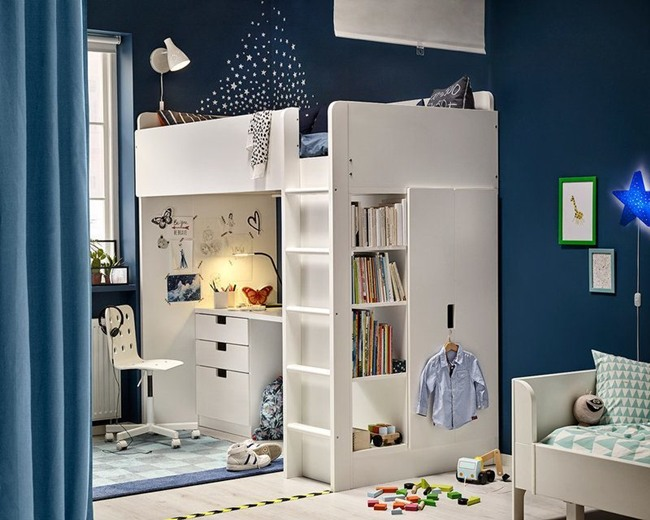 inspiraci n dormitorios juveniles ikea 2018 2019 16 fotos. Black Bedroom Furniture Sets. Home Design Ideas