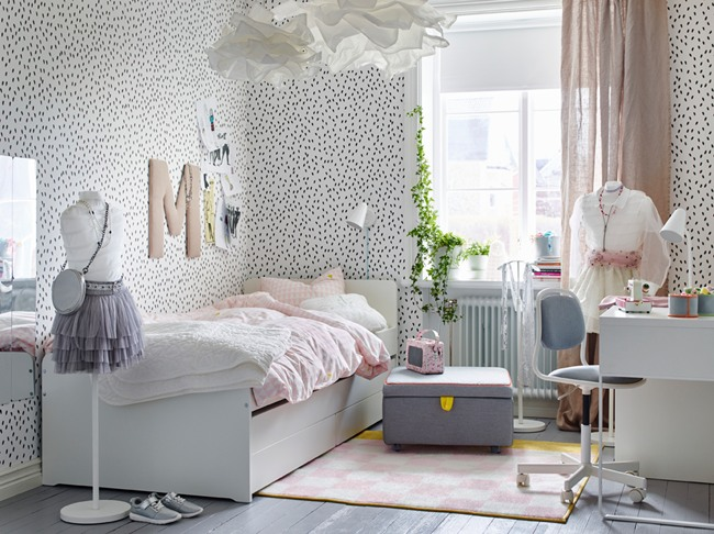 Inspiraci n dormitorios juveniles ikea 2018 2019 16 fotos for Cuartos decorados kawaii