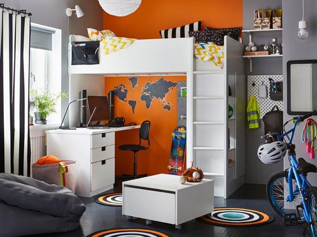 Inspiración dormitorios juveniles Ikea 2018 - 2019 (16 FOTOS)