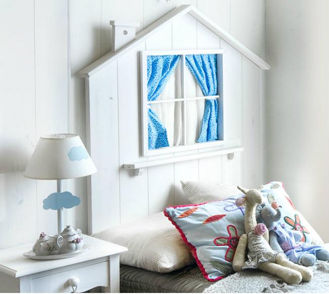 5 cabeceros infantiles con encanto vitabelia - Dormitorios infantiles con encanto ...