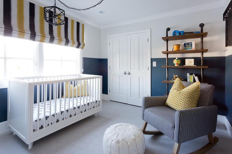 ideas para pintar la habitaci n del beb en dos colores On pintando la habitacion del bebe
