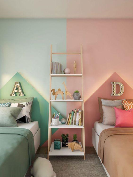 Habitaciones infantiles compartidas niño y niña