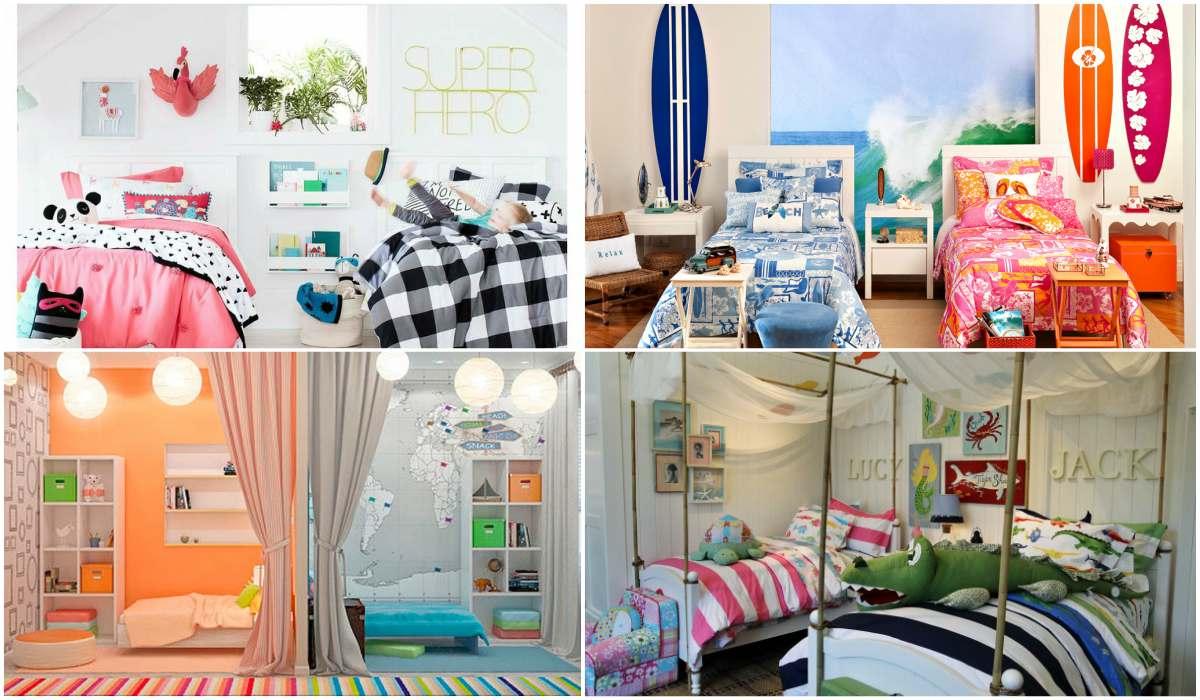 15 Habitaciones mixtas niño-niña