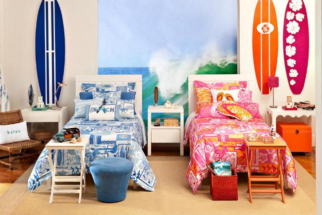 Cómo decorar habitaciones compartidas por niña y niño