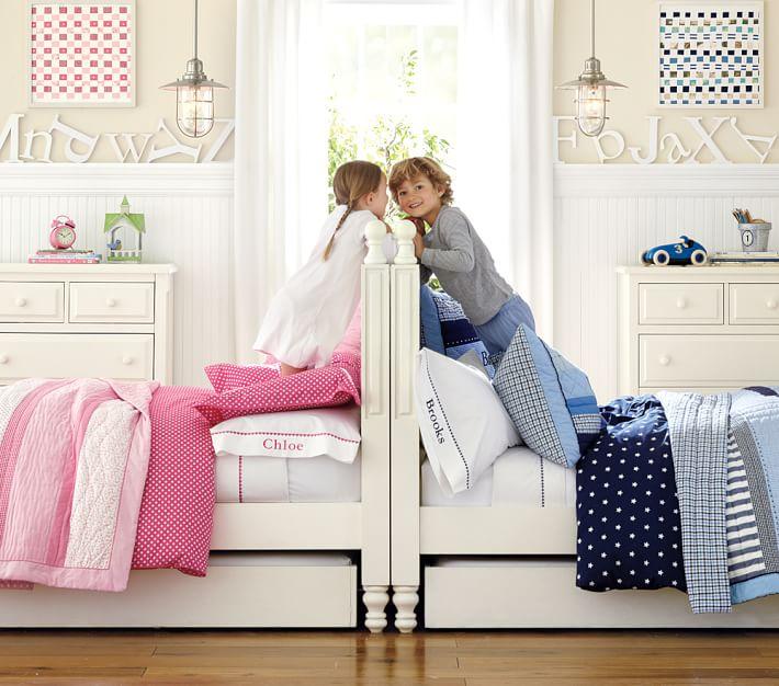 Habitaciones infantiles compartidas mixtas