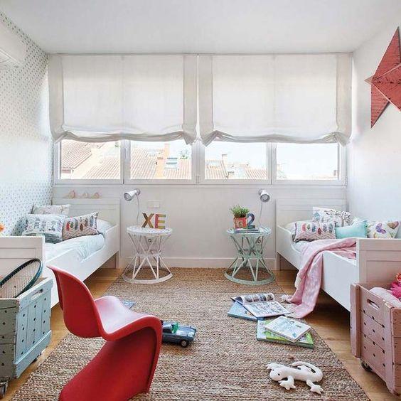 Fotos habitaciones compartidas por niño y niña