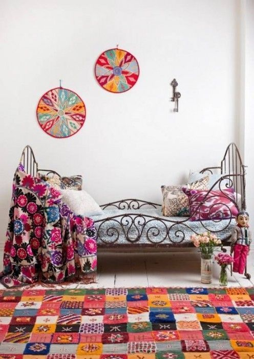 Decoraci n boho chic para ni os y j venes for Decoracion hippie chic