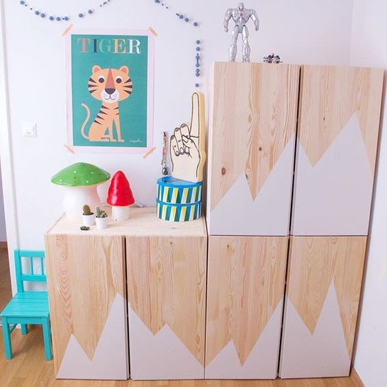 10 Ikea Hacks para niños que te encantarán