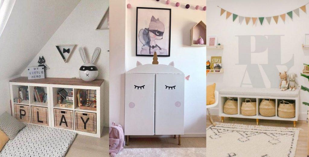 Ikea Hacks para niños que te encantarán