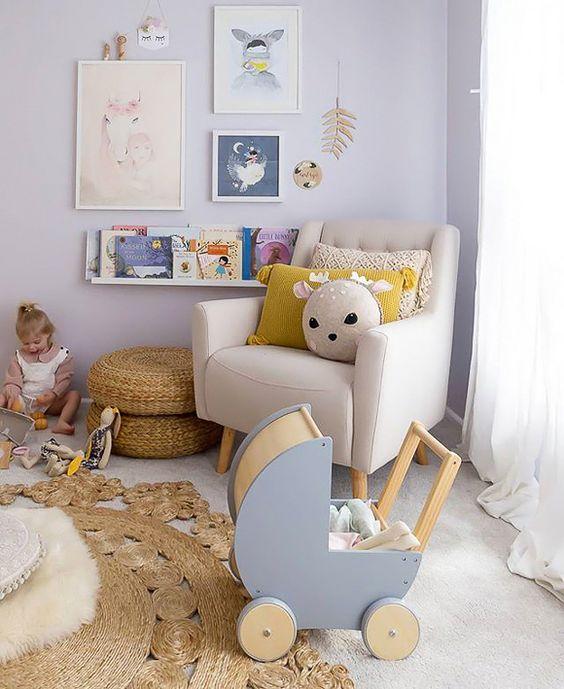 Rincon lectura infantil sillon