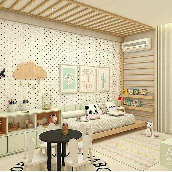 Opciones de climatizaci n para habitaciones infantiles - Decoracion paredes habitacion infantil ...