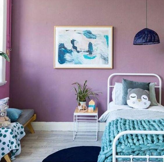 Pantone 2018 Ultra Violete Habitaciones infantiles