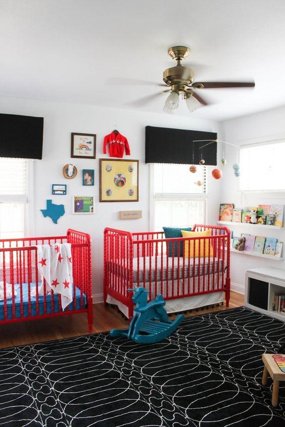 Ventilador de techo habitación bebé