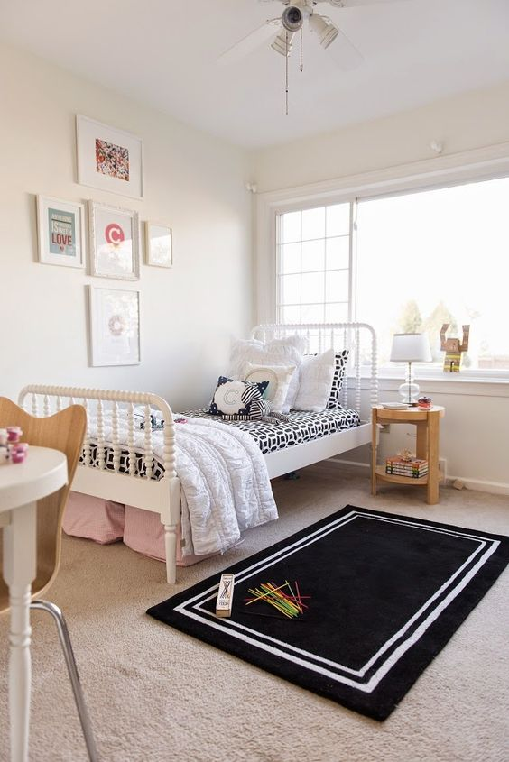 Ventilador de techo habitación infantil