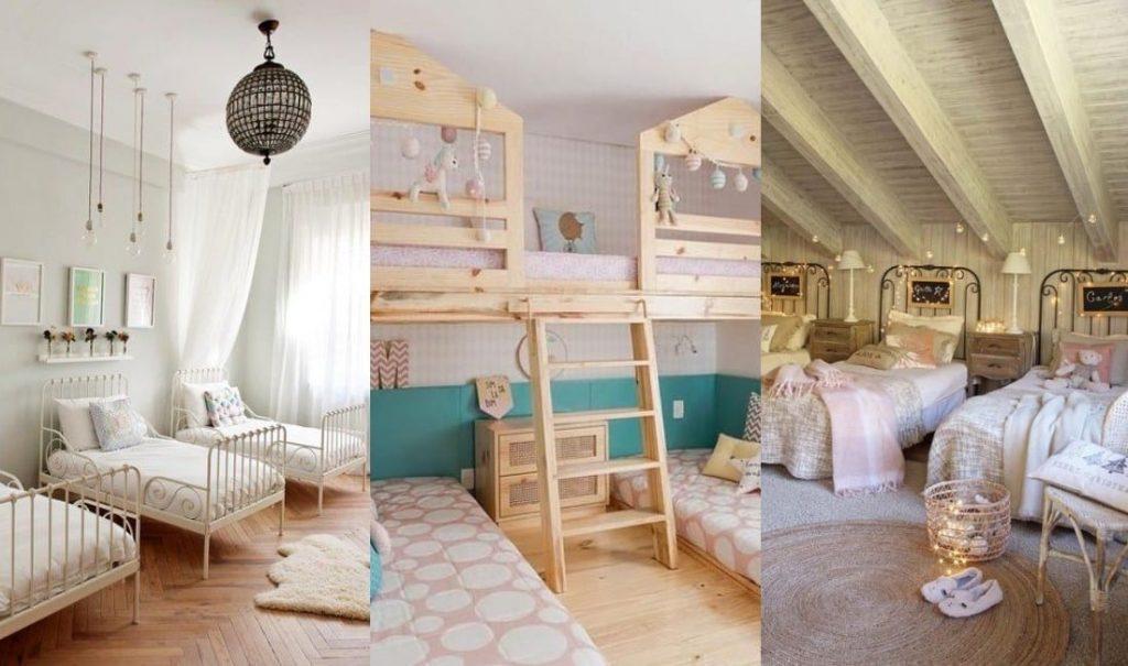 Habitaciones para tres niños