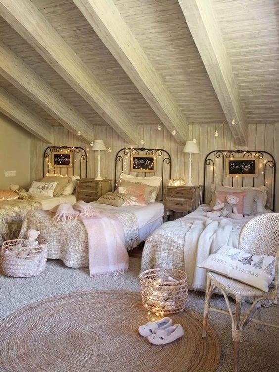 camas triples para niños