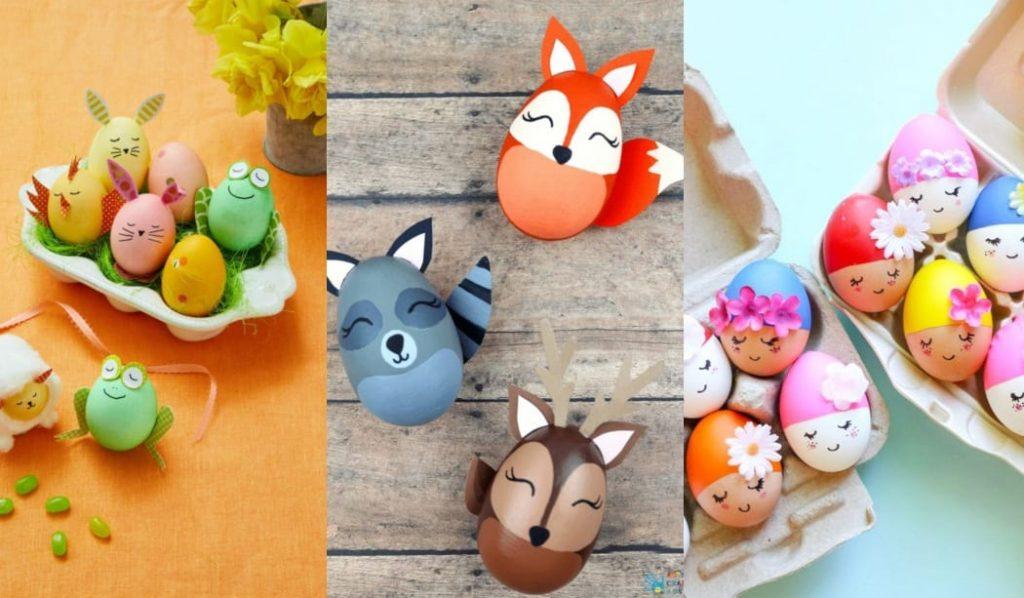 30 Ideas Para Decorar Huevos De Pascua Manualidades Pascua