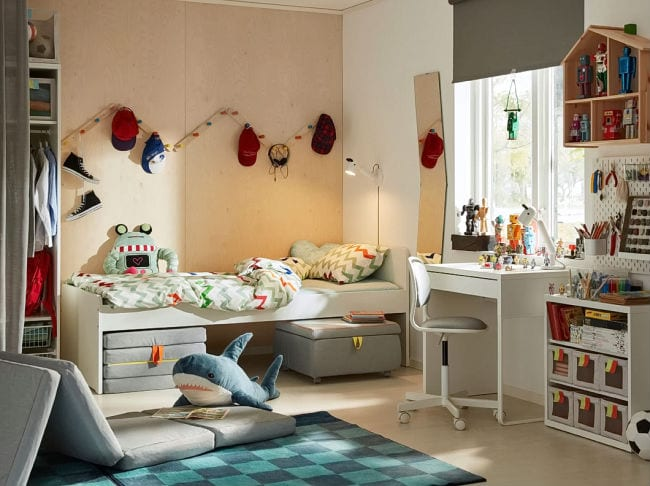 inspiraci n dormitorios juveniles ikea 2018 2019 16 fotos. Black Bedroom Furniture Sets. Home Design Ideas