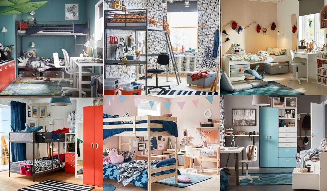 Inspiraci n dormitorios juveniles ikea 2018 2019 16 fotos for Vinilos juveniles ikea
