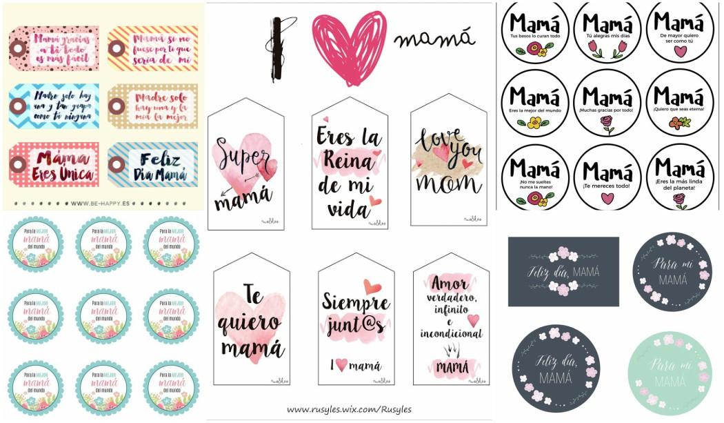 Etiquetas Día de la Madre