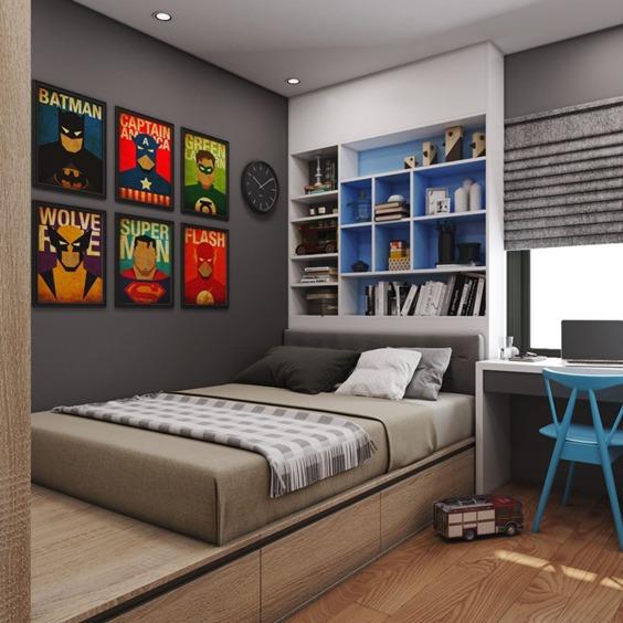 Pintar habitación juvenil - Colores, ideas, inspiración