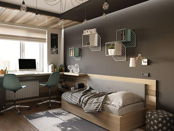 Colores para habitaciones juveniles 2018