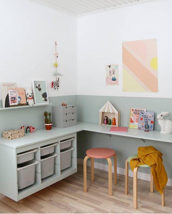 Serie Trofast en habitaciones infantiles