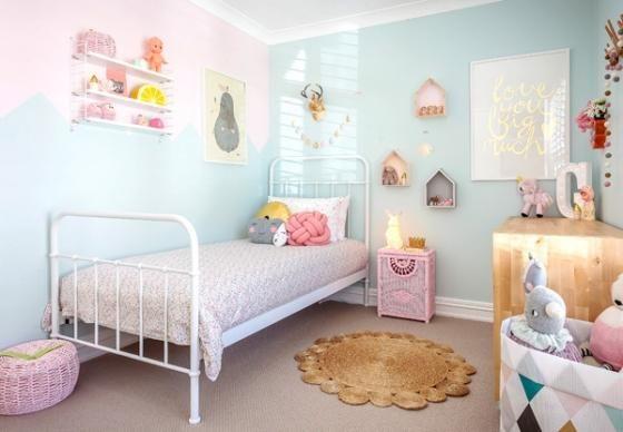 Habitaciones azules para niñas