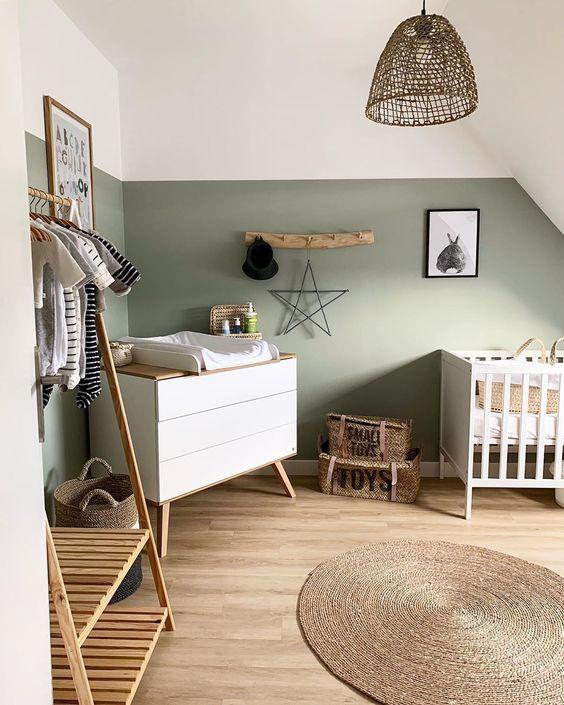 Colores para habitaciones de bebés