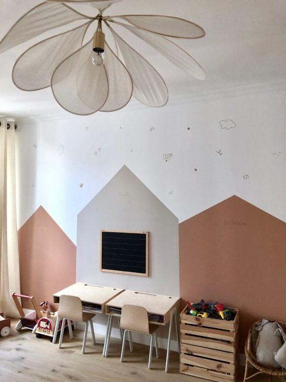 Pintar habitación bebe niña