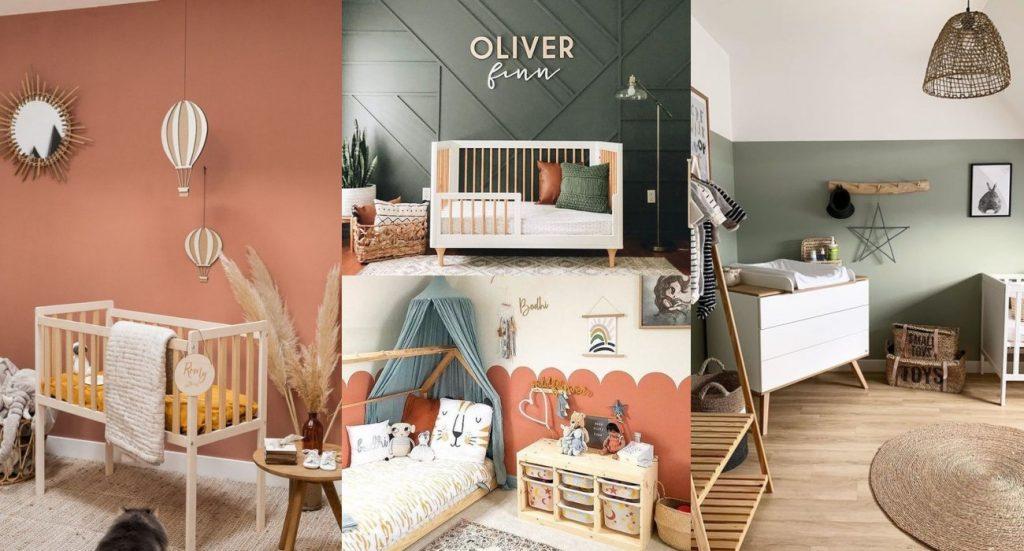 Guía de colores para habitaciones de bebés 2020