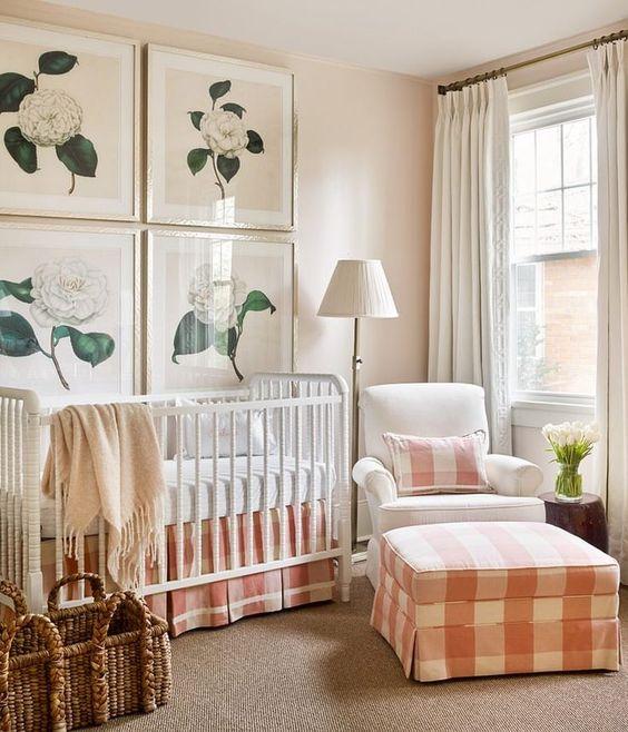 Colores para habitaciones de bebés 2018 - Ùltimas Tendencias