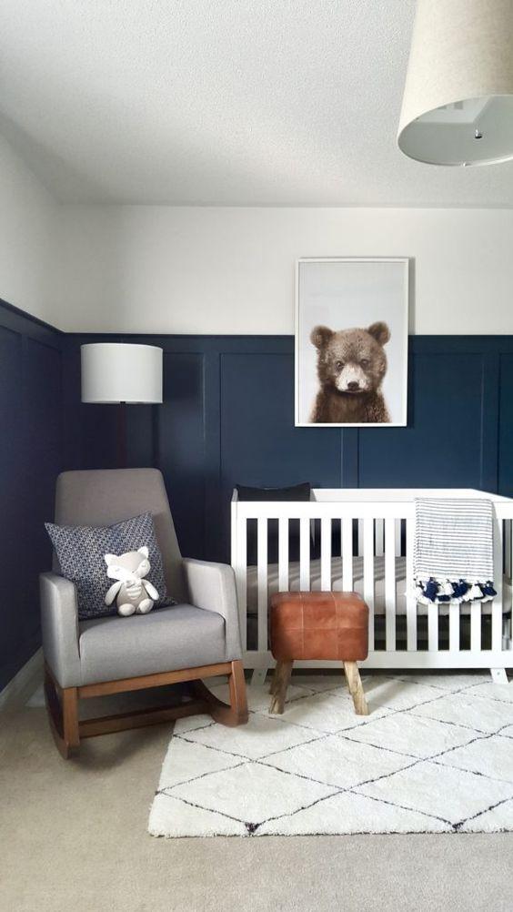 Pintar habitación bebe niño