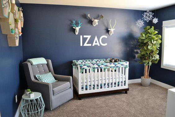 Colores para habitaciones de beb s 2018 ltimas tendencias for Decoracion habitacion de bebe varon