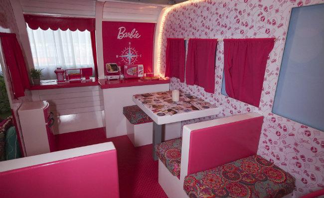 Habitación temática Barbie del Hotel Hilton Buenos Aires