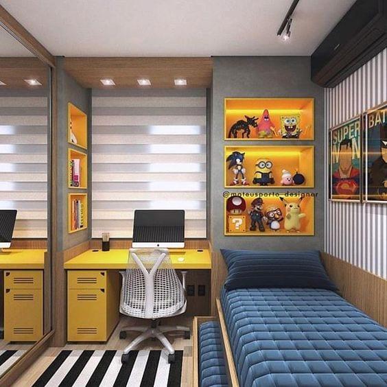 7 Year Old Boys Bedroom Ideas: Cómo Sacar El Máximo Partido A Las Habitaciones Juveniles