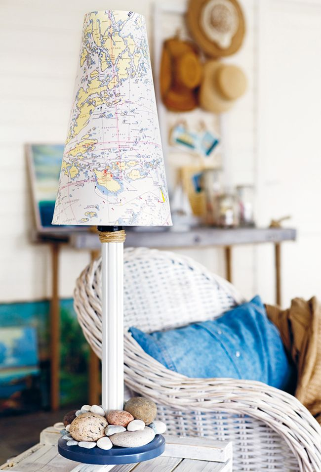 Lámparas de estilo náutico de forma fácil