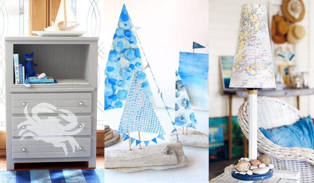 Manualidades marineras para espacios infantiles DIY