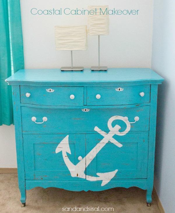 Cambia el aspecto de tus muebles, decoración marinera